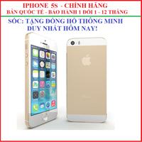 iphone 5s vàng chính hãng , iphone 5s, iphone chính hãng