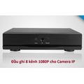 Đầu ghi Camera IP 8 Kênh 1080P, EV-XVR08