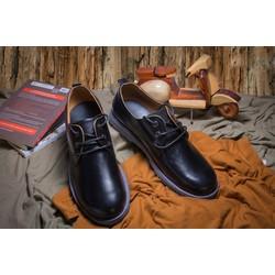 Giày tây da bò màu đen #25D