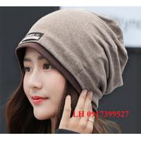 Nón len nữ bere Mũ len nữ bere thời trang Hàn Quốc L12NL31