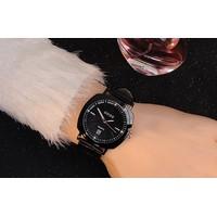 Đồng hồ nữ chính hãng dây da màu đen