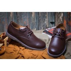 Giày tây da bò màu nâu #25N
