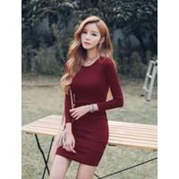 Đầm body tay dài
