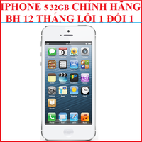 IPHONE 5  LOCK, IPHONE 5, IPHONE 5 CHÍNH HÃNG, IPHONE 5