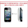 iphone 5 lock, iphone 5 trắng, iphone 5 chính hãng, iphone 5 đen