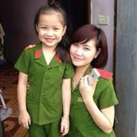 Bộ đồng phục công an trẻ em