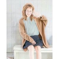 Áo khoác len cardigan màu nâu