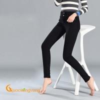 Quần nữ dáng ôm quần jean lưng cao GLQ055