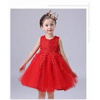 BG2369  - Đầm voan công chúa