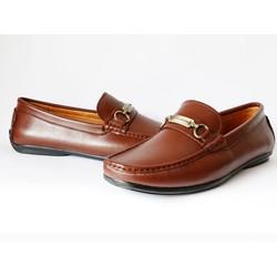 Giày mọi nam G08N màu nâu