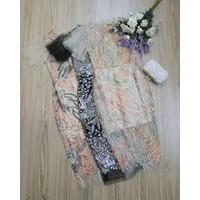 Đầm body tay loa ren đại dương NC01