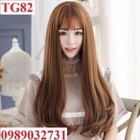 Tóc giả nữ siêu da đầu - TG82