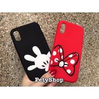 Ốp Mickey Minnie iPhone X iPhone 10