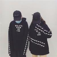 áo hoodie WHAT WILD TO YOU nam nữ