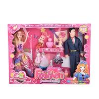 BST đồ chơi gia đình búp bê Barbie loại lớn