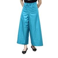 Chân váy đi mưa -đi nắng màu xanh