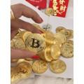 đồng tiền bitcoin MV 24K