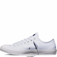 Giày Sneaker CK2 Trắng Cổ Thấp - Nữ