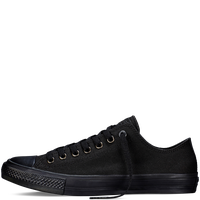 Giày Sneaker CK2 Full Đen Cổ Thấp - Nữ