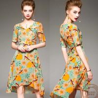 Đầm Xòe Hoa Đẹp Thời Trang Hàng Nhập CAO CẤP A7230