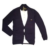 Áo cadigan len nam phối phông thời trang cực đẹp