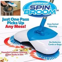 Chổi quét nhà thông minh Spin Broom xoay 360 độ