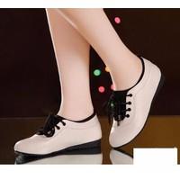 Giày thể thao nữ da mềm cao cấp - LN1428