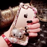 Ốp lưng silicon iPhone 6plus đính đá