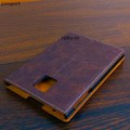 Bao Da IONCASE Blackberry Passport da bò màu nâu