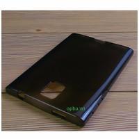 Ốp Lưng IONE Blackberry Passport Silicon Nâu