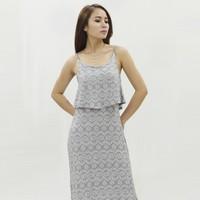 Đầm Maxi Xẻ Tà Zigzag