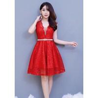 Đầm Đỏ Mùa Tết