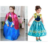 váy  công chúa Anna Frozen