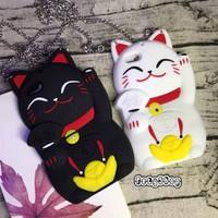Ốp mèo trắng đen iPhone 6 6S 6Plus 6SPlus 7 7Plus