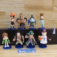 Bộ Mô Hình Các Đội Trưởng Băng Hải Tặc Râu Trắng - One Piece