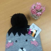 Mũ len trẻ em cao cấp