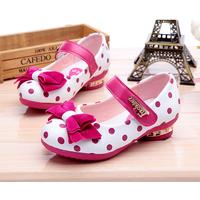 Giày công chúa chấm bi hồng Z-21