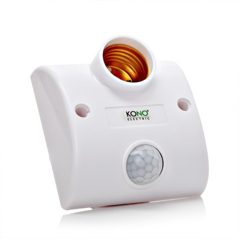 Đui đèn hông ngoại cảm ứng thông minh kono KN08 1