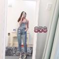 Yếm Jean dài nữ cá tính