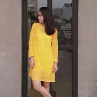 Đầm Ren Vàng