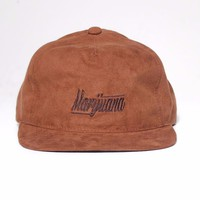 Mũ snapback D-Hustle Marijuana M012
