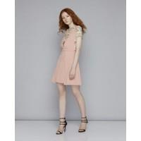 Hàng cao cấp - Set váy yếm và áo ngắn tay - NSET12