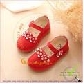 Hàng nhập - Giày búp bê bé gái đế kếp mềm chống trượt GLG027-do