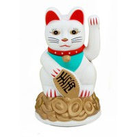 Mèo Thần Tài Có Quạt Mang May Mắn Đến Mọi Nhà