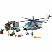 Mô hình lắp ghép trực thăng tuần tra đô thị