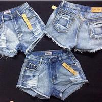 quần shorts nữ cá tính -151