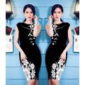 Đầm 3D Hoa Đồng Nội Ngọc Trinh