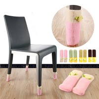 Combo 4 tất lót chân bàn - ghế - giường tránh ồn và trầy xước