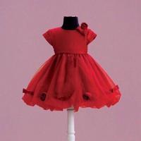 Đầm đính hoa bé gái 10-27kg