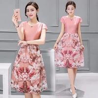Đầm Maxi Hoa 3D